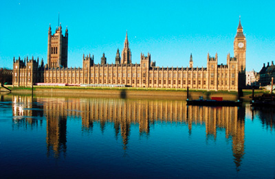 London. The Houses of Parliament